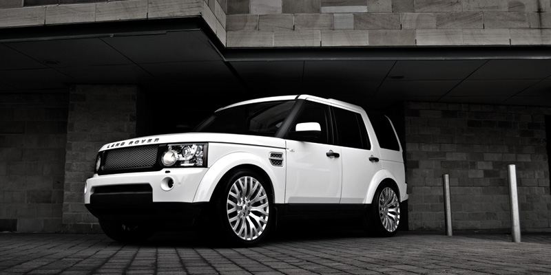 Tuning Range Rover Discovery4